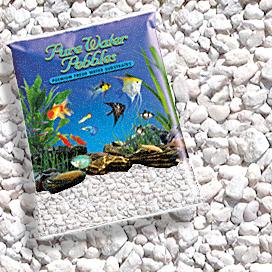 25-Pound Pure Water Pebbles Aquarium Gravel Blue Lagoon