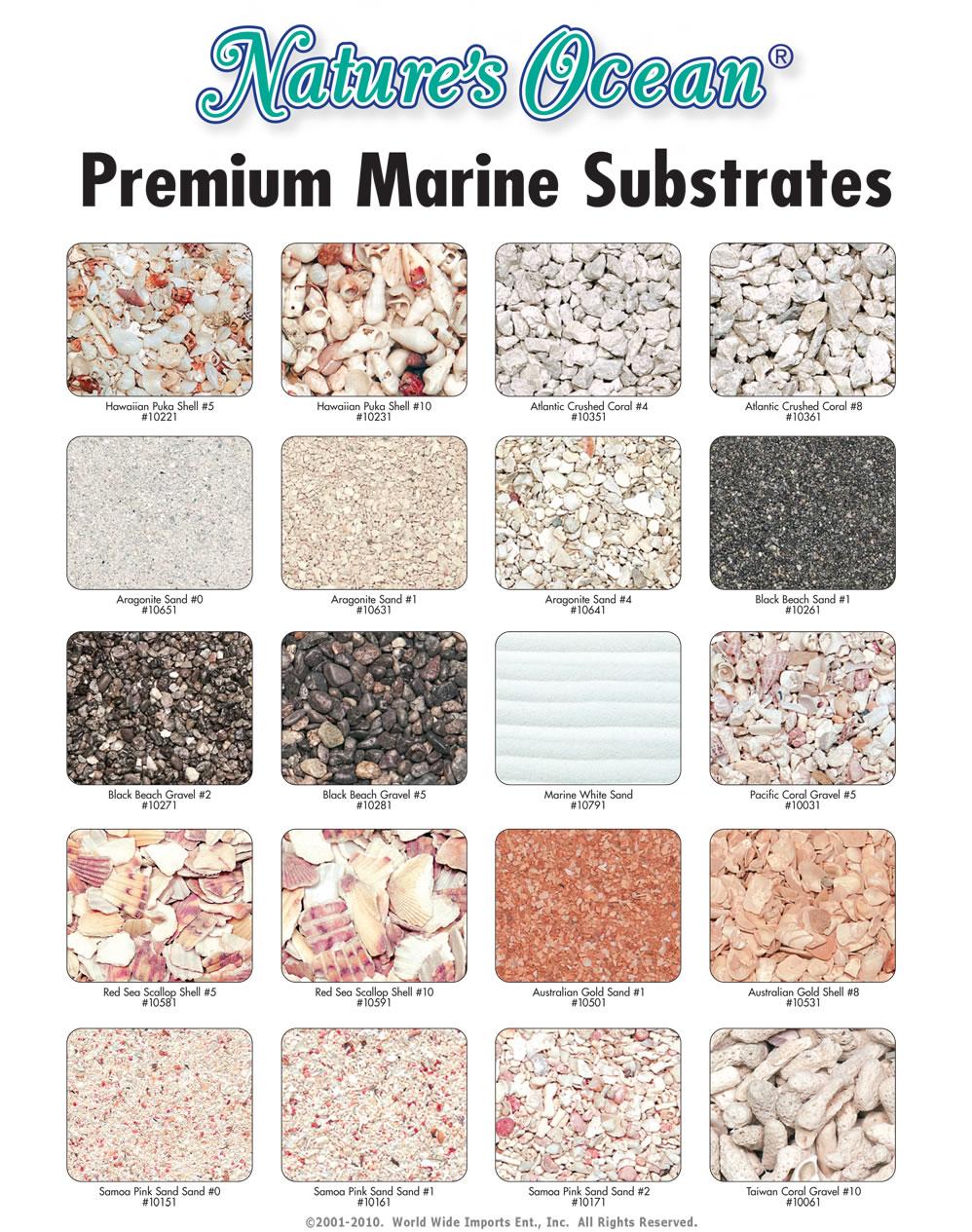 Fish tank gravel - Purewaterpebbles Aquarium Gravel Brochure