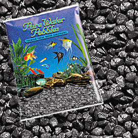 Pure Water Pebbles® Black Frost Aquarium Gravel