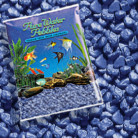 Pure Water Pebbles® Deep Blue Frost Aquarium Gravel