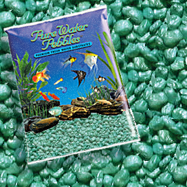 Pure Water Pebbles® Emerald Green Frost Aquarium Gravel