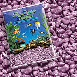 Pure Water Pebbles® Lavendar Frost Aquarium Gravel