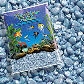 Pure Water Pebbles® Pastel Blue Frost Aquarium Gravel
