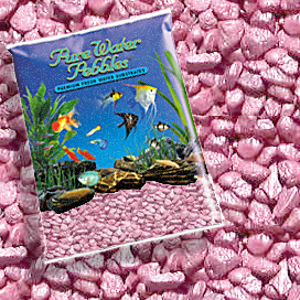 Pure Water Pebbles® Pastel Pink Frost Aquarium Gravel