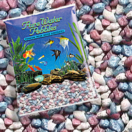 Pure Water Pebbles® Pastel Rainbow Frost Aquarium Gravel