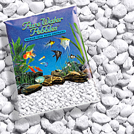 Pure Water Pebbles® Platinum White Frost Aquarium Gravel