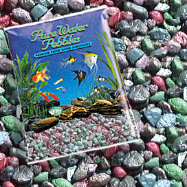 Pure Water Pebbles® Rainbow Forest Aquarium Gravel