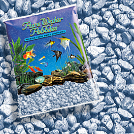 Pure Water Pebbles® Sapphire Blue Frost Aquarium Gravel