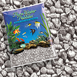 Pure Water Pebbles® Silver Frost Aquarium Gravel
