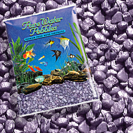 Pure Water Pebbles® Purple Frost Aquarium Gravel
